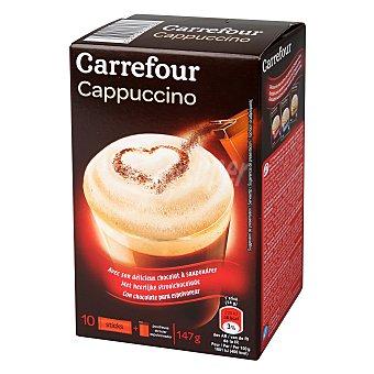 Carrefour Café Cappuccino soluble clásico 147 g