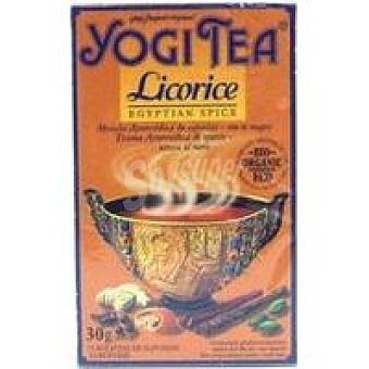 Yogi Tea Tea de regaliz Caja 30 g