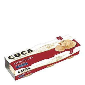 Cuca Atún claro natural 3 latas de 67 g
