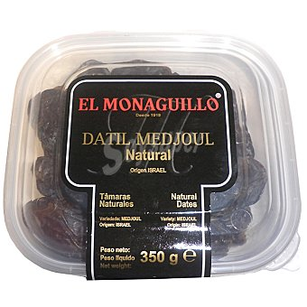 EL MONAGUILLO Dátiles naturales medjoul Tarrina 350 g