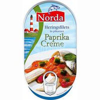 NORDA Arenque en crema paprika Lata 190 g
