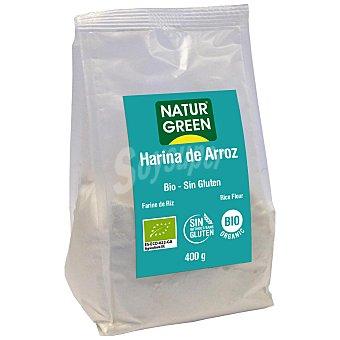 Naturgreen Harina de arroz ecológica Natur Green sin gluten 400 g