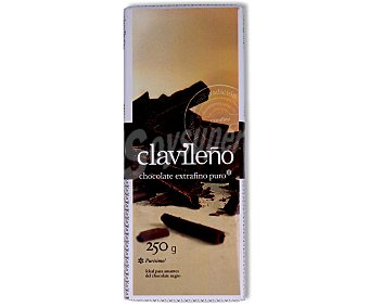 Clavileño Chocolate extrafino puro 250 gr