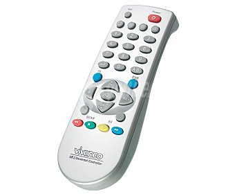 VIVANCO UR2 Mando a distancia universal 2 en 1 para TV y DVD