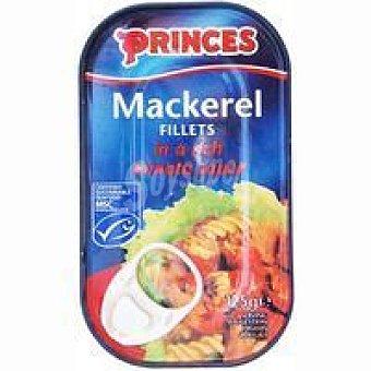 Princes Filete de caballa en tomate Lata 125 g