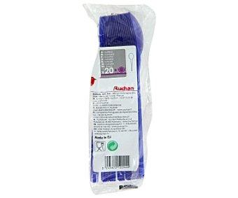 Auchan Cucharas azules 20 Unidades