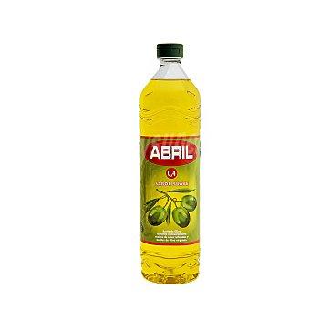 Abril Aceite de oliva suave 0,4º Botella 1 l