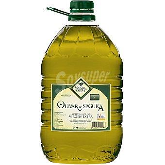 OLIVAR DE SEGURA aceite de oliva virgen extra bidon  5 l