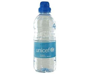 UNICEF Agua mineral Botella 33 Centilitros