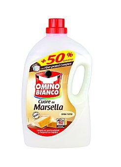 Omino Bianco Detergente máquina líquido al jabón de Marsella  botella 27 dosis + 13 gratis