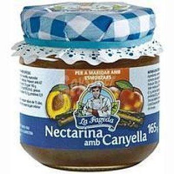 La Fageda Mermelada de necatarina-canyella Frasco 165 g