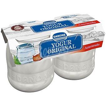 Original Danone Yogur natural azucarado enriquecido 2 unidades de 135 g