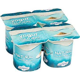 Celgán Yogur natural azucarado Pack x 125 g