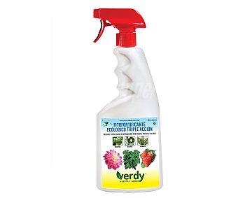 VERDY Fitofortificante ecológico de triple acción frente al ataque de plagas y enfermedades (hongos, insectos y ácaros) Spray de 750 mililitros