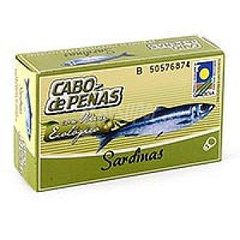 Cabo de Peñas Sardinas ecológicas en aceite de oliva virgen 120g