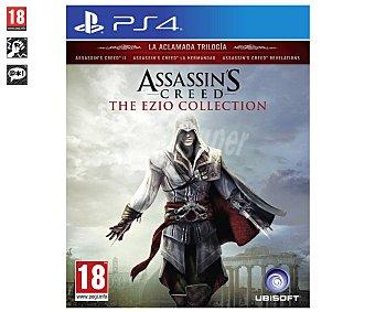 Ubisoft Assassin's Creed The Ezio Collection para Ps4. Género: aventura, acción. pegi: +18 Assassin's Creed The Ezio Collection Ps4