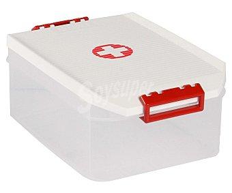 Tatay Caja botiquín con capacidad de , fabricada en plástico resistente blanco tatay 4,5 litros