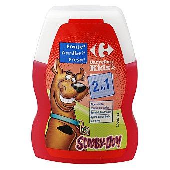Carrefour Kids Dentífrico 2 en 1 de fresa 75 ml