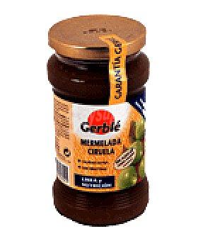 Gerble Mermelada ciruela con gluten sin azucar añadido 380 GRS