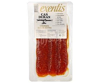 Can Duran Chorizo extra en lonchas 100 gramos