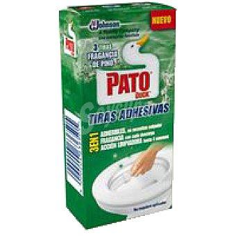 Pato Limpiador wc tiras pino Pack 27