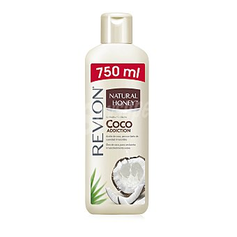 Natural Honey Gel de baño de aceite de coco Bote 750 ml