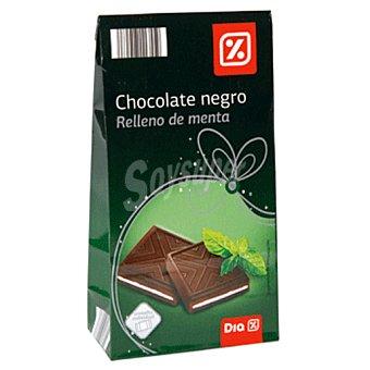 DIA chocolate negro relleno de menta estuche 154 gr