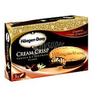 Häagen-Dazs Cream Crisp de vainilla Pack 3x66 ml