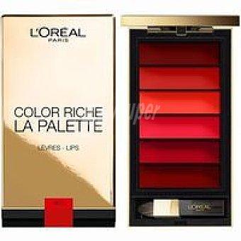 L'Oréal Paleta de labios Color Riche 002 Rouge Pack 1 unid