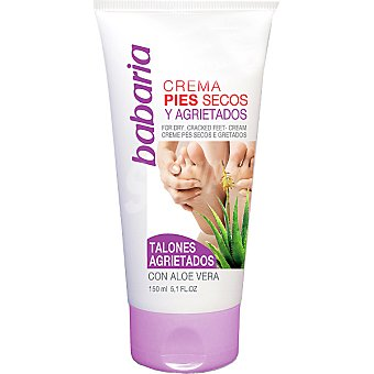 Babaria Crema para pies secos y agrietados con Aloe Vera Tubo 150 ml