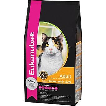 EUKANUBA ADULT alimento completo para gato adulto con pollo e hígado  bolsa 4 kg
