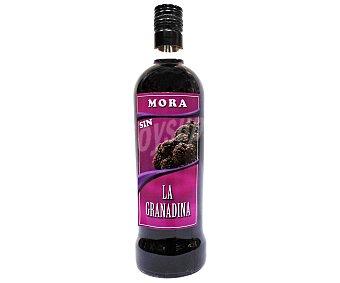 LA GRANADINA Licor de mora sin alcohol Botella de 1 Litro