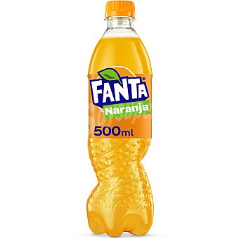 Fanta Refresco de naranja Botella 50 cl