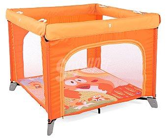 Chicco Parque bebé cuadrado de 94,5 x 75,5 x 94,5 cm, color naranja open BOX
