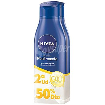 Nivea Body milk Q10 Plus reafirmante (pack precio Pack 2 frasco 400 ml