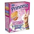 Bizcochitos con chips sabor caramelo 8 uds Princesa