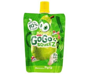 GOGO Fruta manzana-pera triturada 90 Gramos