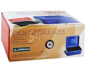 ARREGUI Caja de Caudales T2 con Sistema de Apertura y Cierre Mediante Llave. 200x90 Milímetros 1 Unidad