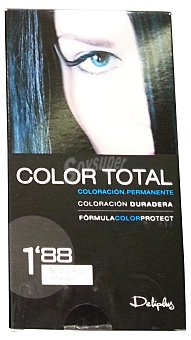 Deliplus Tinte coloracion permanente Nº 1,88 negro azul intenso u