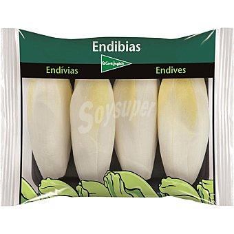 El Corte Inglés Endibias blancas Envase 450 g