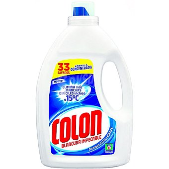 Colón Detergente gel Botella 33 dosis