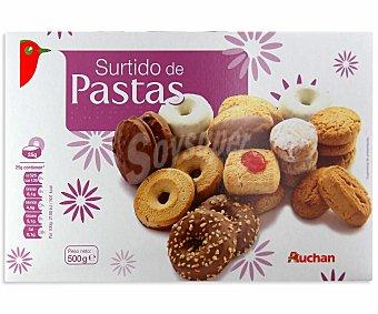 Auchan Surtido de pastas 500 gramos