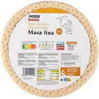 Eroski Base de pizza eroski basic, pack 2x150 G
