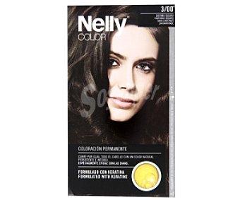 Nelly Tinte de Color Castaño Oscuri Nº 3/00 1 Unidad