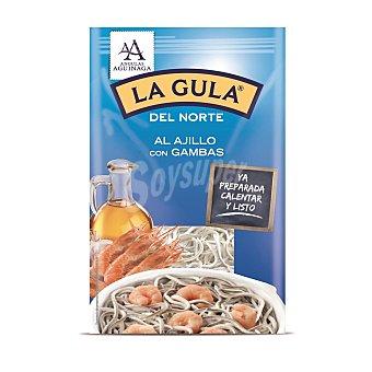Angulas Aguinaga La gula del norte fresca con gambas Sobre 125 g