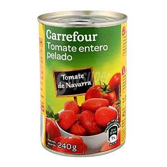 Carrefour Tomate natural pelado Bote de 390 g