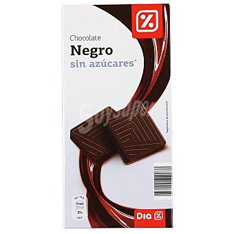 DIA Chocolate negro sin azúcares Tableta 100 gr