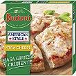 Xtra cheese pizza tradicional italiana al puro estilo americano con extra de queso Envase 410 g Buitoni American Style