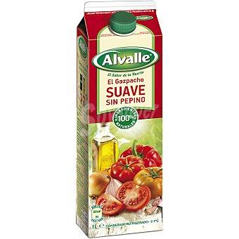 Alvalle Gazpacho suave Brik 1 litro
