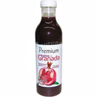 Zumo exprimido de granada premium Botella 75 cl